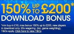 Up to £200 Download Welcome Bonus – William Hill Casino photo