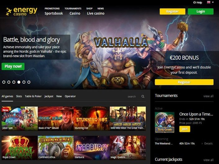 Информация о Energy Casino