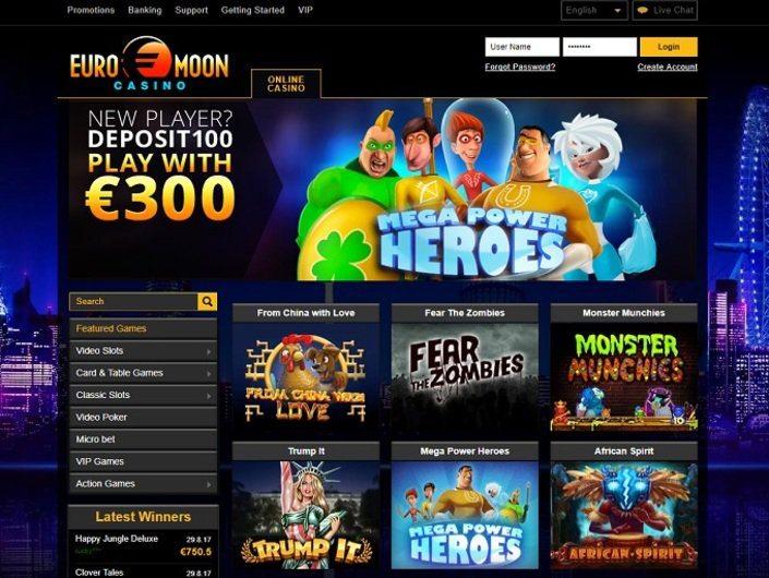 Euromoon Casino Erfahrungen