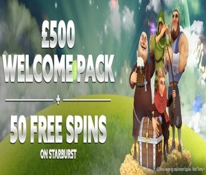 Betat Casino Welcome Bonus – 100% up to £500 + 50 Free Spins photo