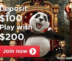 100% Up To £100 – Royal Panda Welcome Bonus photo