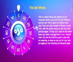 ojo wheel bonus