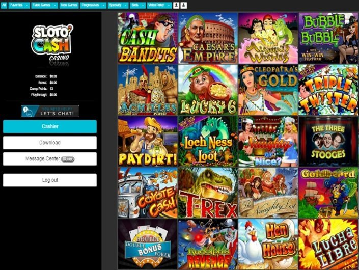 Sloto Cash casino picture