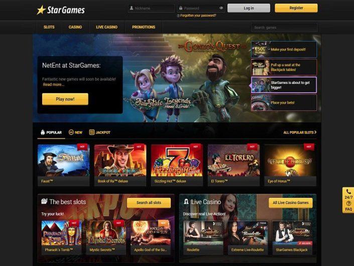 Stargames.Com Info