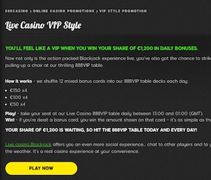 Live Casino VIP Style – 888 Casino photo