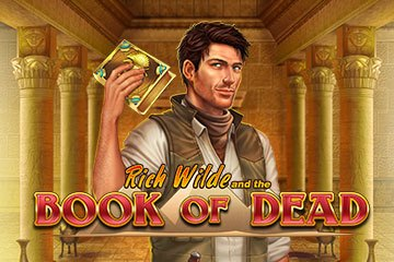book of dead slot logo