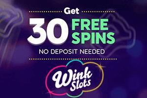 30 free spins no deposit required at wink slots casino