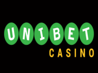 unibet casino black logo
