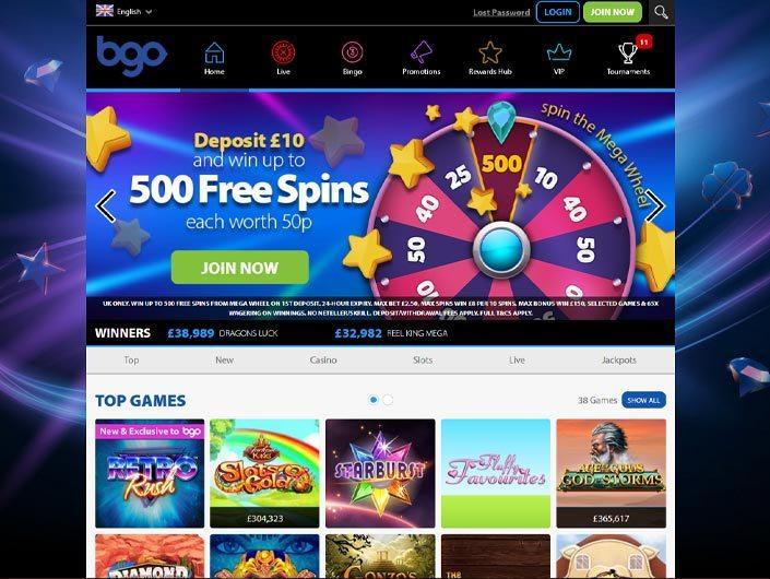BGO Casino Software Review