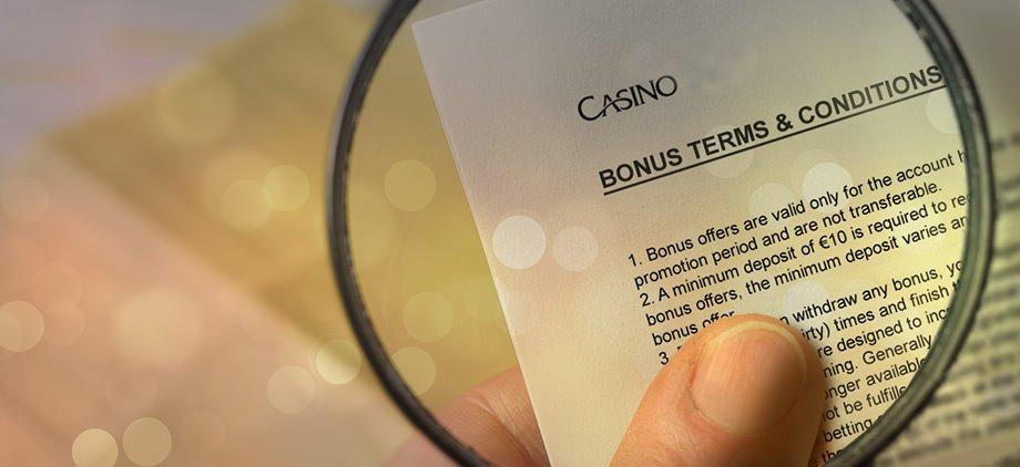 casino t&c