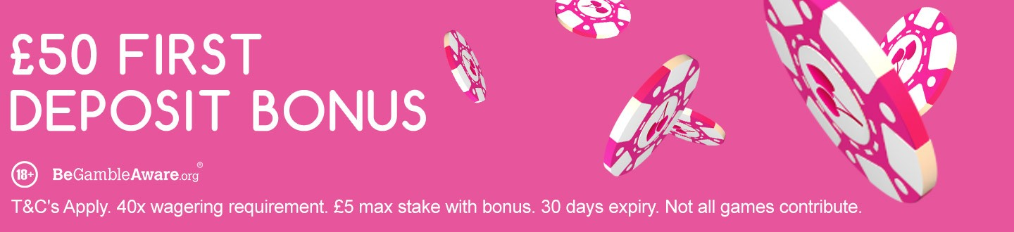 welcome bonus pink casino