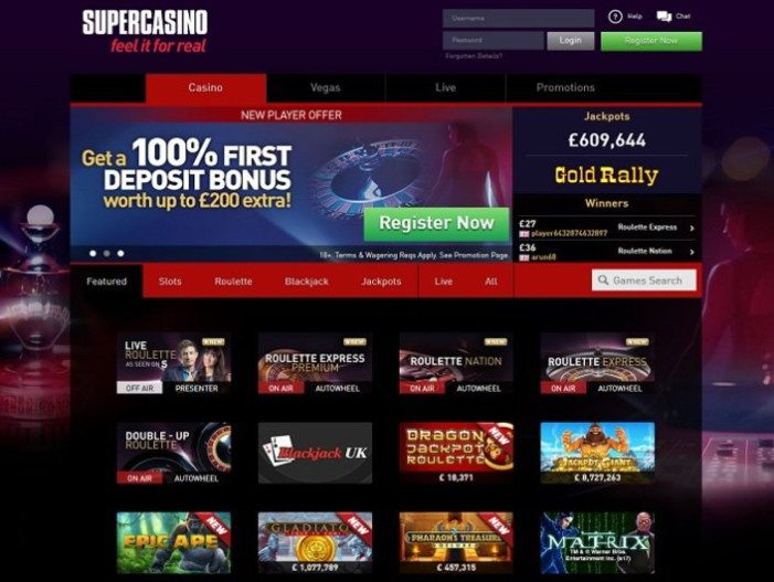 Super Casino Review